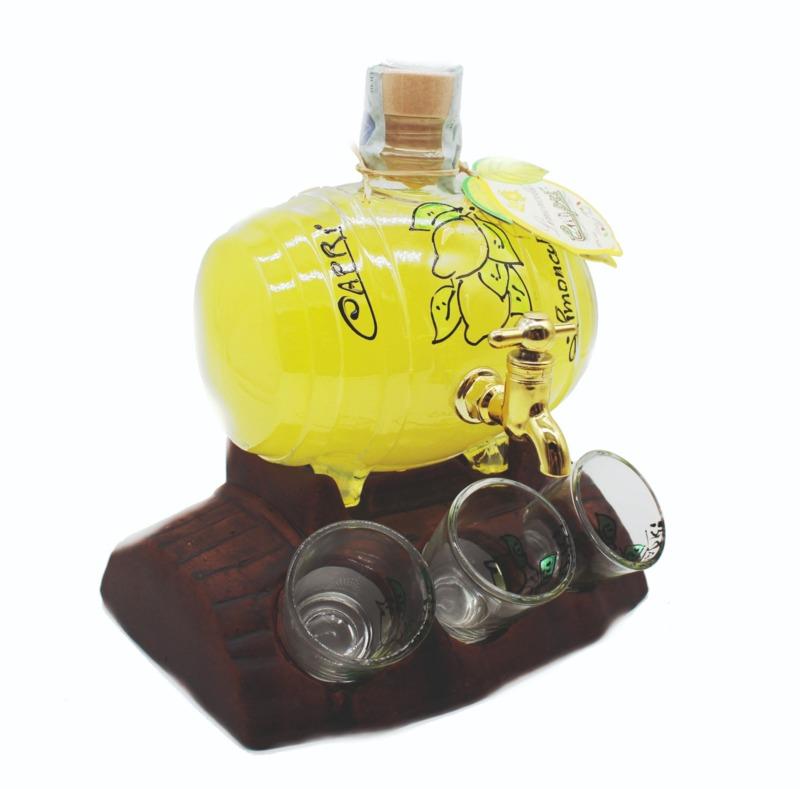 botte-cc500-limoncello-decorata-a-mano-con-supporto-6-bicchieri